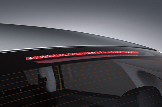 Sonata rear fog lamp