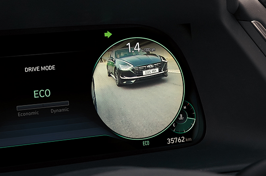 Sonata Blind spot view monitor