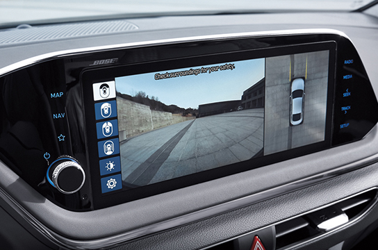 Sonata Surround view monitor (SVM)