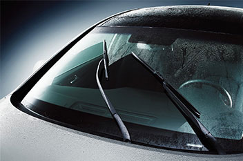 Rain sensor and aero blade wipers