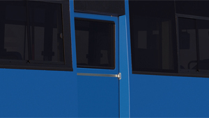 image of super aero city mid door