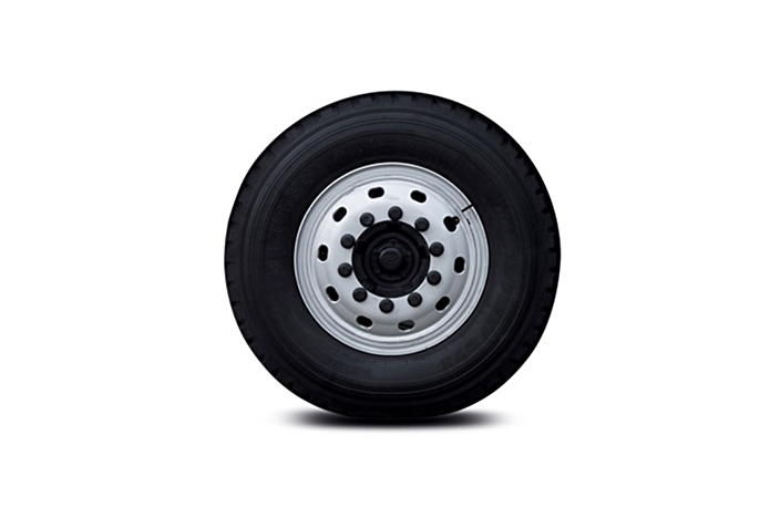 a tire and wheel