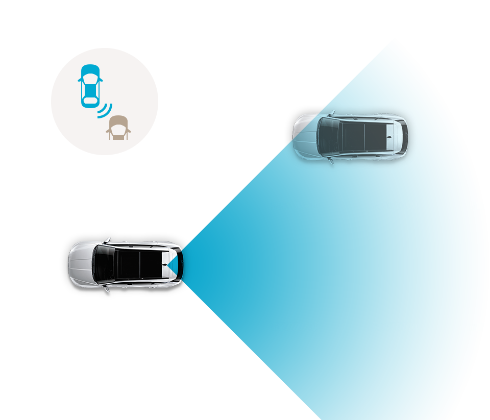 Blind-Spot Collision-Avoidance Assist (BCA)