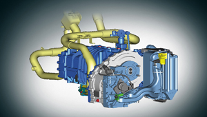 image of universe bus ZF retarder braking system