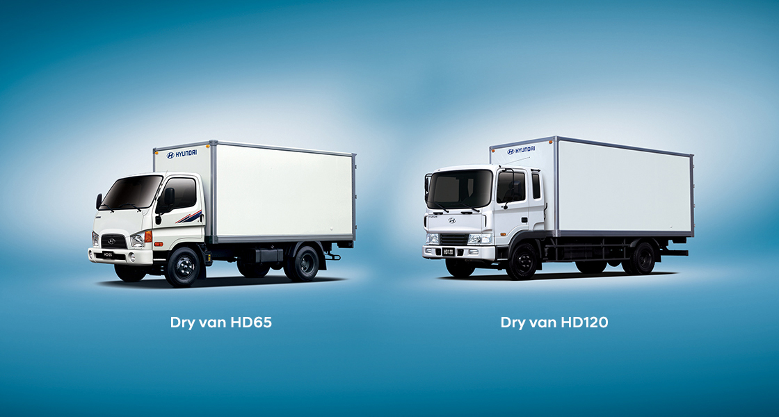 front image of HD45 dry van