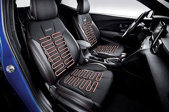 Seat warming & cooling air ventilation system