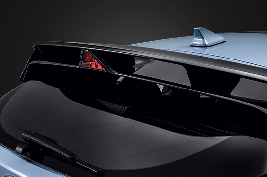 Two Stage Rear Spoiler