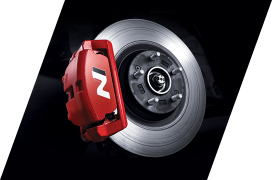 N exclusive high performance brake