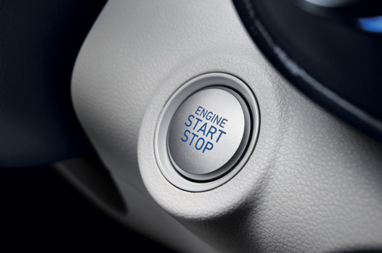 Push button start system and smart key system