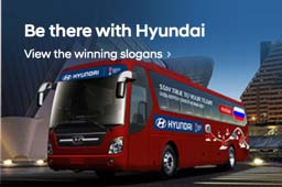 Be there with Hyundai