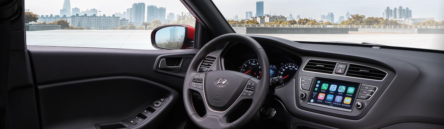 Hyundai I20 Araç Iç Tasarımı