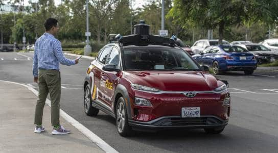 Hyundai Autonomous Cars Hit the Streets in Irvine, California