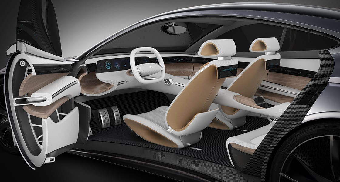 concept car, 2018 le fil interior side
