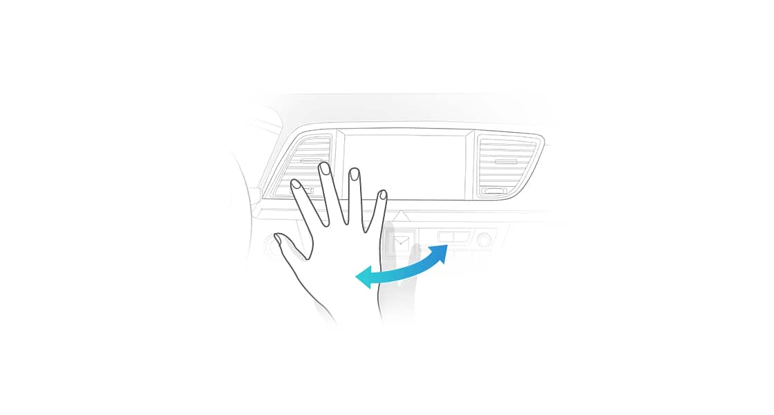 illustration of a hand for Motion Recognition