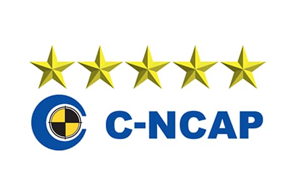 safety award c-ncap logo veiw