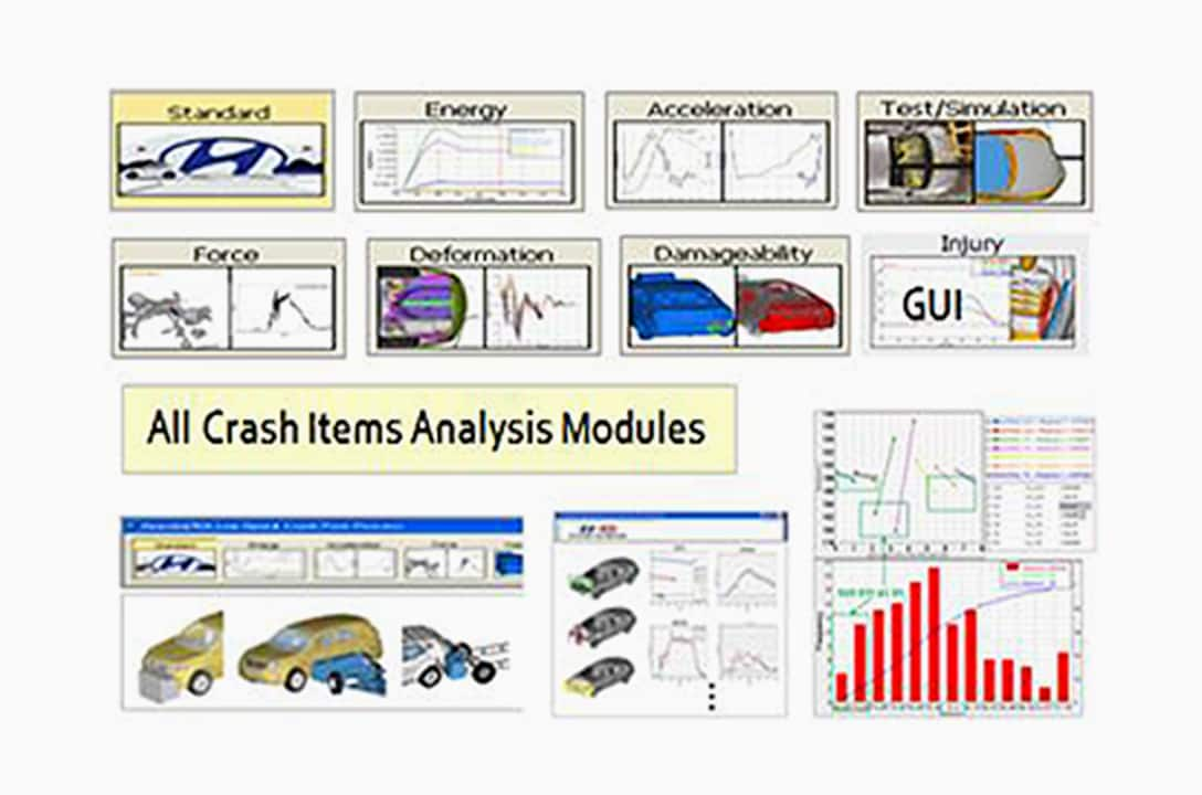 An image of crash analysis post process auto tool
