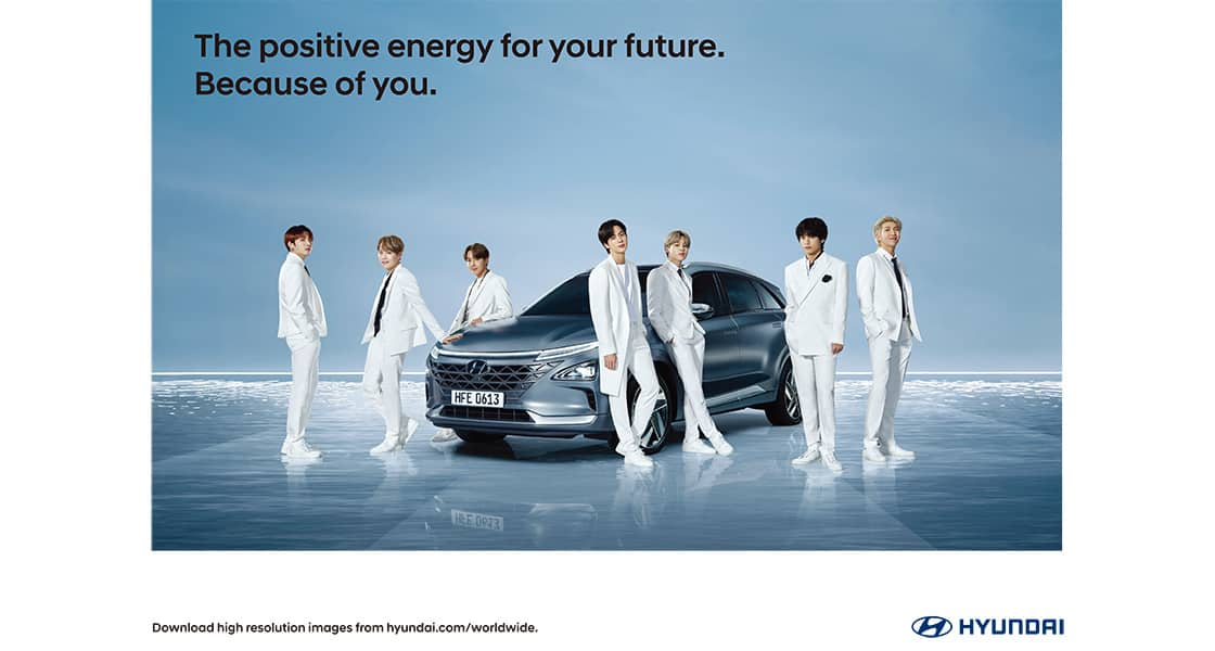 Hyundaixbts Because Of You Brand Hyundai Worldwide