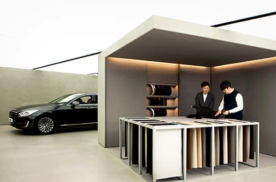 Launched Genesis Gangnam, a stand-alone brand showroom