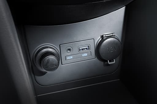 Aux and usb ports