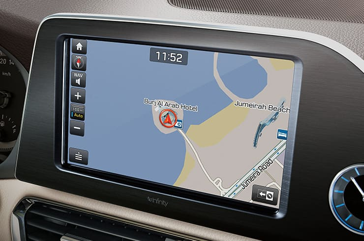 8˝ audio and navigation display