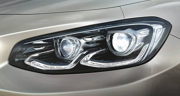 Full LED headlamps light on