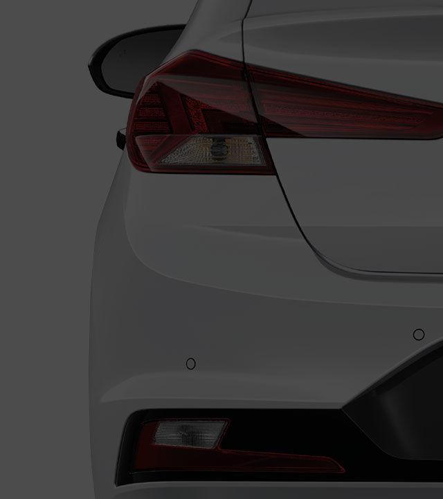 Elantra exterior rear design