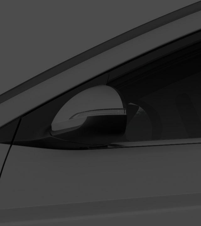 Elantra exterior side design