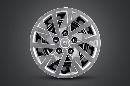 "15"" steel wheel & wheel cover"