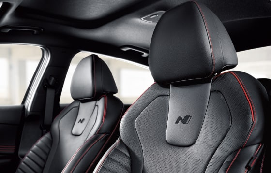 N Line exclusive sports seats