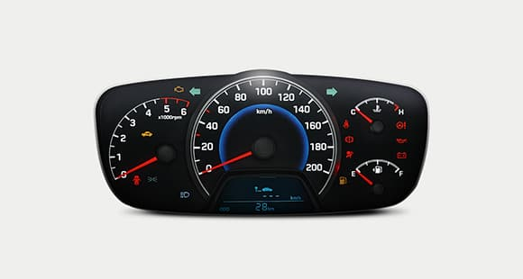 The supervision instrument cluster