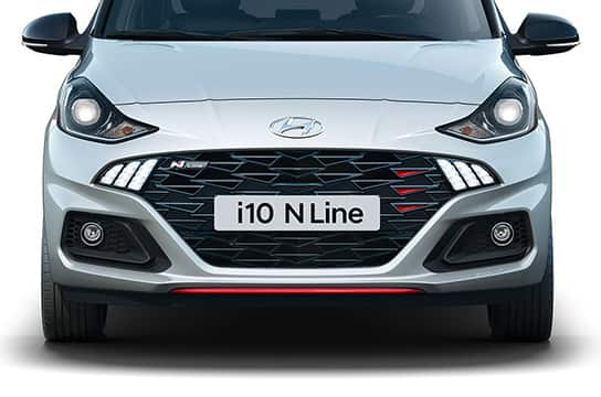 N Line bumper and grille