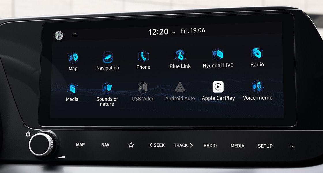 10.25'' Audio Video Navigation (AVN).