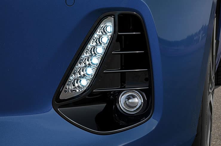LED Daylight Running Lights and fog lamps