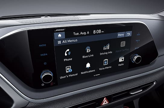 Sonata 8″ LCD touch screen