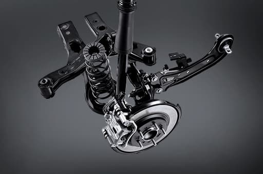 Rear multi-link suspension