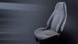 image of county bucket type driver seat