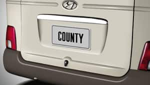 image of county rear view and bumper