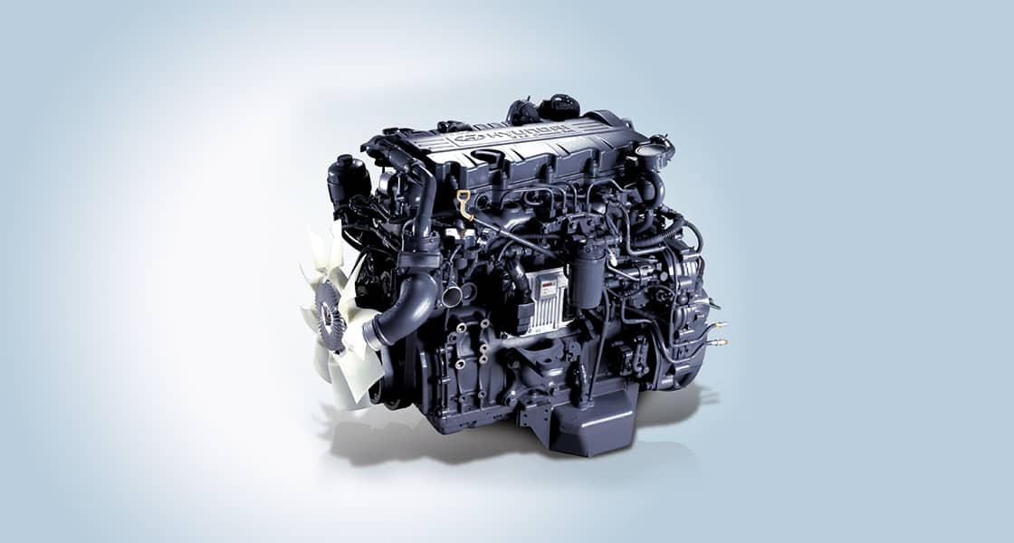 image of county D4DD CRDi engine