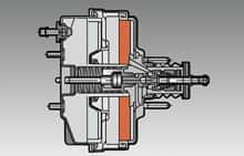 image of county brake booster section
