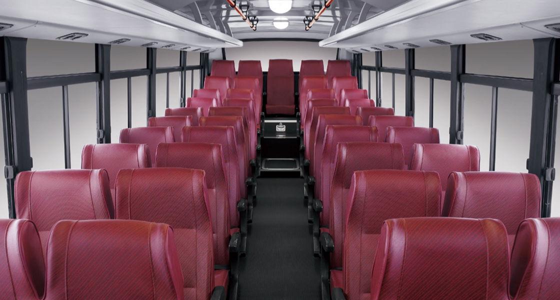 image of super aero city passenger seat layout