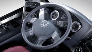 image of super aero city power steering wheel