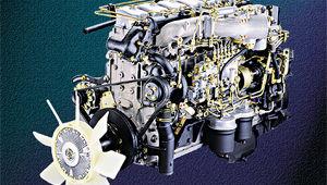 image of D6AV 235PS engine