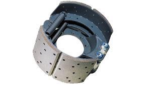 image of super aero city large diameter brake shoe