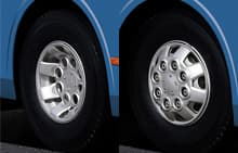 image of universe bus wheel cover