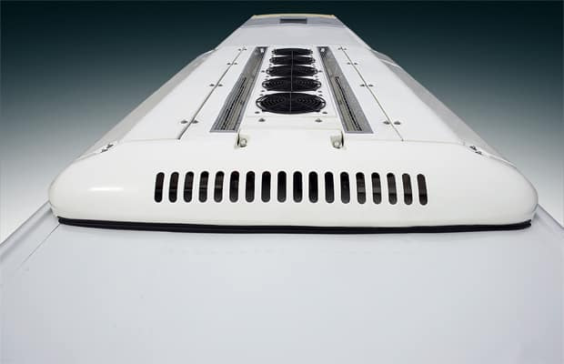 image of universe bus roof integrated with air conditioner