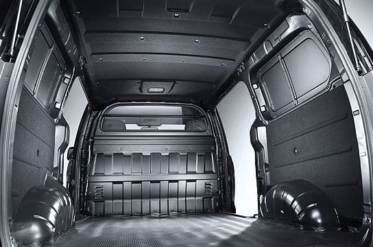 2/3-seater panel van cargo room