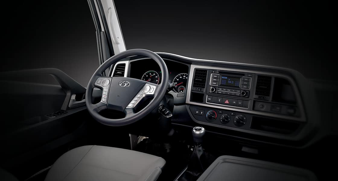 Interior of driver side