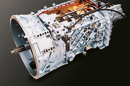 image of ZF 16-speed transmission unit