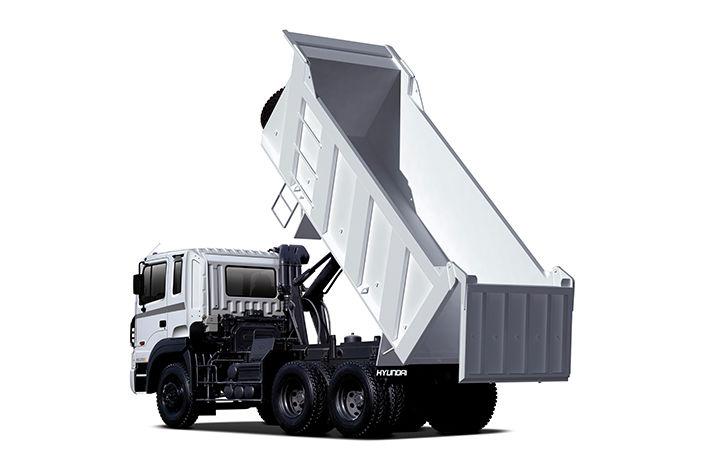 HD370 truck has 18 loading capacity