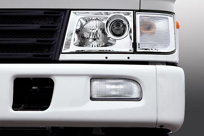 image focused on headlamps